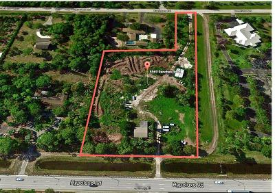 Lake Worth Single Family Home For Sale: 5969 Ranches Road