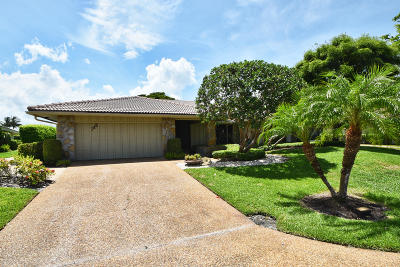 Delray Beach Single Family Home For Sale: 712 Pine Lake Drive