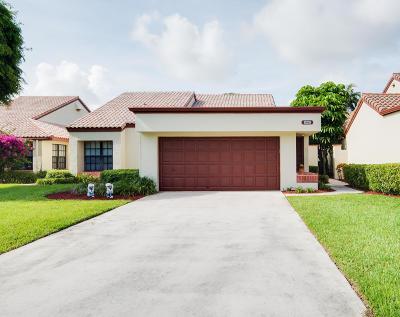 Boynton Beach FL Single Family Home For Sale: $229,900