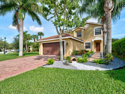 Boynton Beach Single Family Home Contingent: 7829 Jewelwood Drive