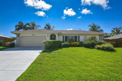 Boca Raton Single Family Home For Sale: 4610 NW 5th Terrace