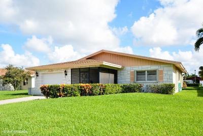 Delray Beach Single Family Home For Sale: 6133 Stanley Lane