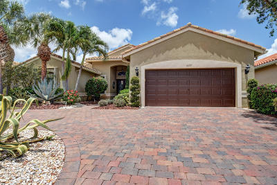 Boynton Beach FL Single Family Home For Sale: $429,000