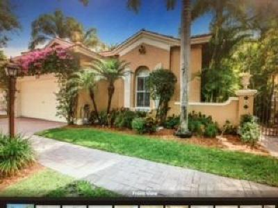 Coral Springs Single Family Home For Sale: 5761 NW 122nd Way