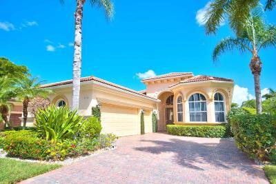 West Palm Beach Single Family Home For Sale: 10601 Piazza Fontana