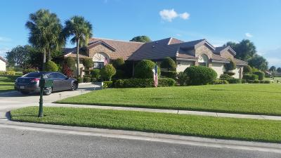 Boynton Beach Single Family Home For Sale: 8105 Mimosa Place