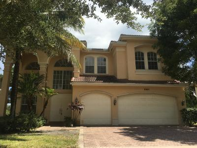 Boynton Beach Single Family Home For Sale: 8861 Woodgrove Ridge