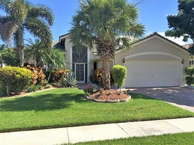 Boynton Beach Single Family Home For Sale: 8891 Via Tuscany Drive