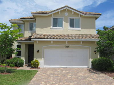 Greenacres Single Family Home For Sale: 5637 Caranday Palm Drive