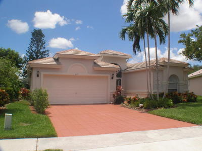 Boynton Beach Single Family Home For Sale: 6241 Coral Reef Terrace