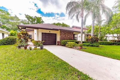Boynton Beach Single Family Home For Sale: 4739 Fancy Leaf Court