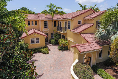 Palm Beach Gardens Single Family Home For Sale: 1111 Vintner Boulevard