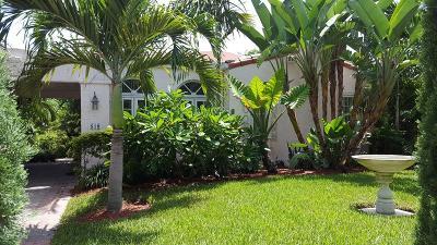 West Palm Beach Single Family Home For Sale: 810 Flamingo Drive
