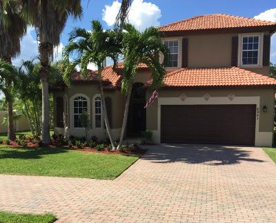 Boynton Beach Single Family Home Contingent: 4961 Red Avocado Court