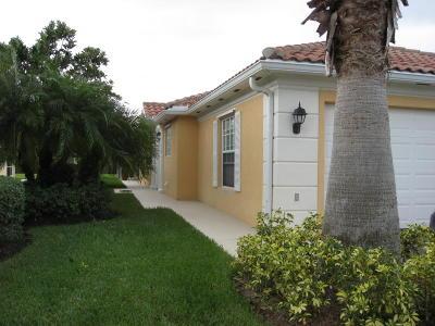 Port Saint Lucie Rental For Rent: 10792 SW Elsinore Drive