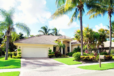 Delray Beach Single Family Home For Sale: 3155 Wedgewood Boulevard