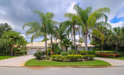 Hobe Sound Single Family Home For Sale: 7770 SE Double Tree Drive
