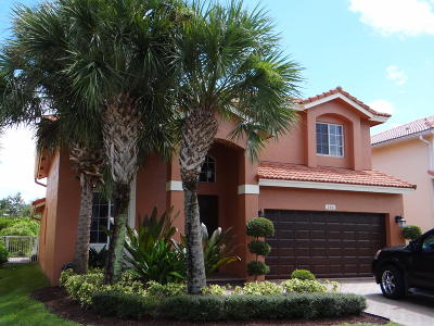 Royal Palm Beach Single Family Home Contingent: 144 Bellezza Terrace