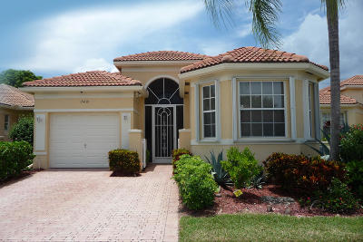 Delray Beach Single Family Home Contingent: 15430 Fiorenza Circle