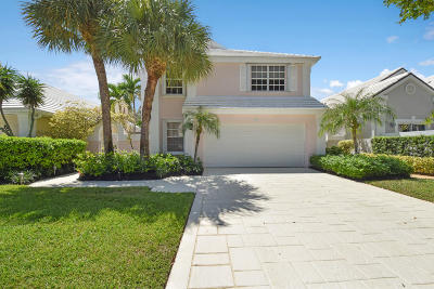 Palm Beach Gardens Single Family Home Contingent: 34 Windsor Lane