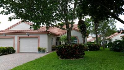 Delray Beach Single Family Home For Sale: 14339 Emerald Lake Drive
