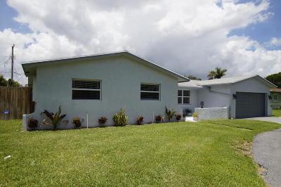 Boynton Beach Single Family Home For Sale: 2541 SW 11th Street