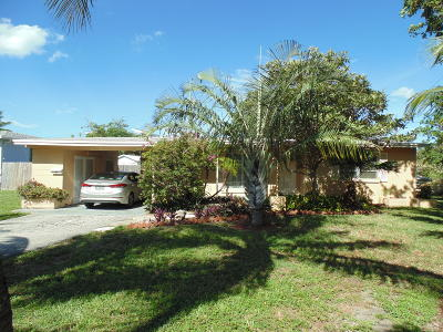 Deerfield Beach Single Family Home Contingent: 948 SE 14th Avenue
