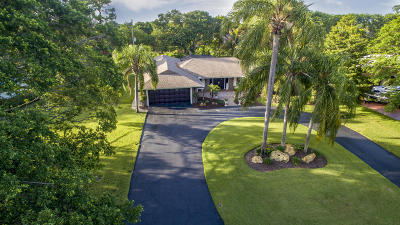 Delray Beach Single Family Home For Sale: 3703 Lowson Boulevard