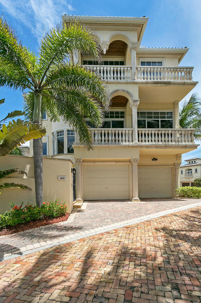 Palm Beach County Rental For Rent: 2629 S Ocean Boulevard