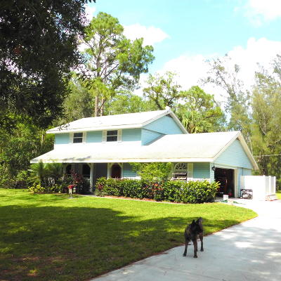 Loxahatchee Groves Single Family Home For Sale: 1032 Hyde Park Road