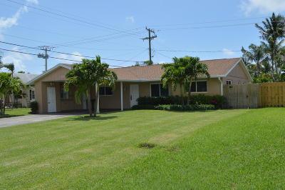 Palm Beach Gardens Single Family Home For Sale: 378 Garden Boulevard