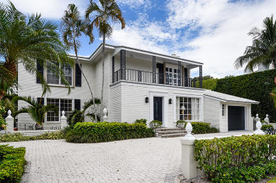 Palm Beach Single Family Home For Sale: 240 Pendleton Avenue