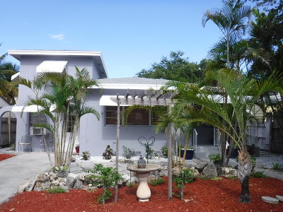Lake Worth Single Family Home For Sale: 928 K Street
