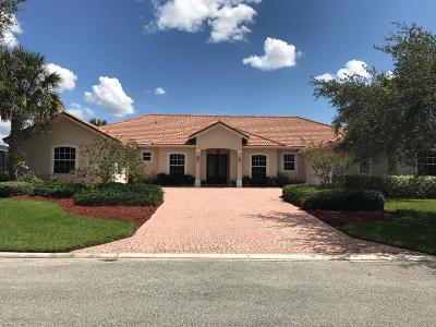 Port Saint Lucie Single Family Home For Sale: 1422 SW Osprey Cove SW