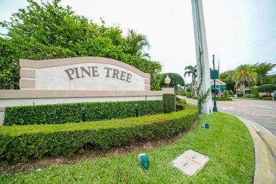 Boynton Beach Single Family Home For Sale: 4629 Turnberry Court