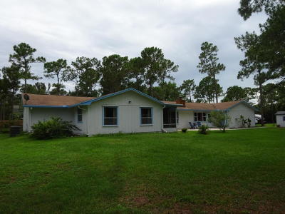 Jupiter Single Family Home For Sale: 13018 156th Street