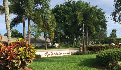 Delray Beach Single Family Home For Sale: 1252 Club Drive W #C