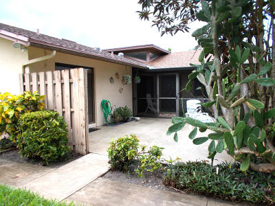 Delray Beach Single Family Home Contingent: 922 NW 30th Avenue #D