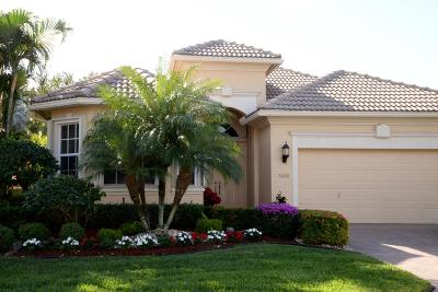 Boynton Beach Single Family Home For Sale: 7098 Veneto Drive