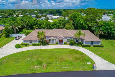 Tequesta Single Family Home For Sale: 107 SE Turtle Creek Drive