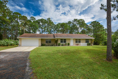 West Palm Beach Single Family Home Contingent: 13127 83rd Lane
