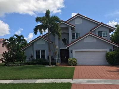 Boca Raton Single Family Home For Sale: 7886 Tennyson Court