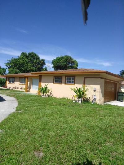 Delray Beach Single Family Home For Sale: 633 Dolphin Drive