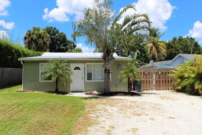 Palm City Single Family Home For Sale: 1043 SW 35th Street