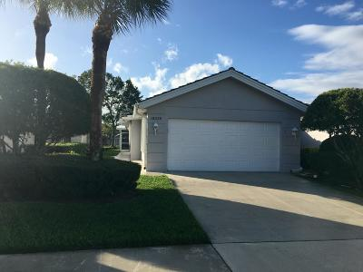 Port Saint Lucie Single Family Home For Sale: 1302 NW Bentley Circle #B