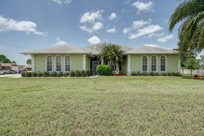Port Saint Lucie Single Family Home Contingent: 211 SW Marathon Avenue