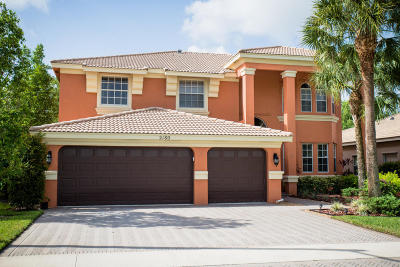 Royal Palm Beach Single Family Home For Sale: 2180 Bellcrest Circle