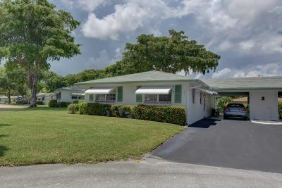 Delray Beach Single Family Home For Sale: 847 Meadowlark Lane