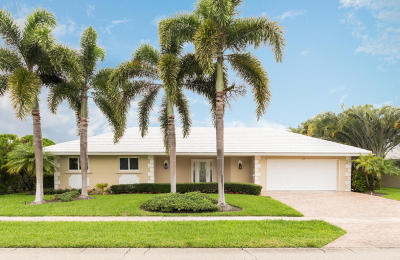 Boca Raton Single Family Home For Sale: 1355 Tamarind Way