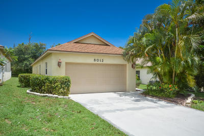 Hobe Sound Single Family Home For Sale: 8012 SE Sugar Pines Way